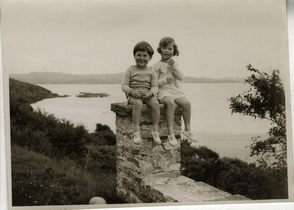 Law // County Donegal :: Stephen and Bridget Law at Marble Hil,l circa 1937