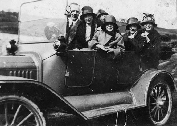 Stewart // County Monaghan :: Stewart family car