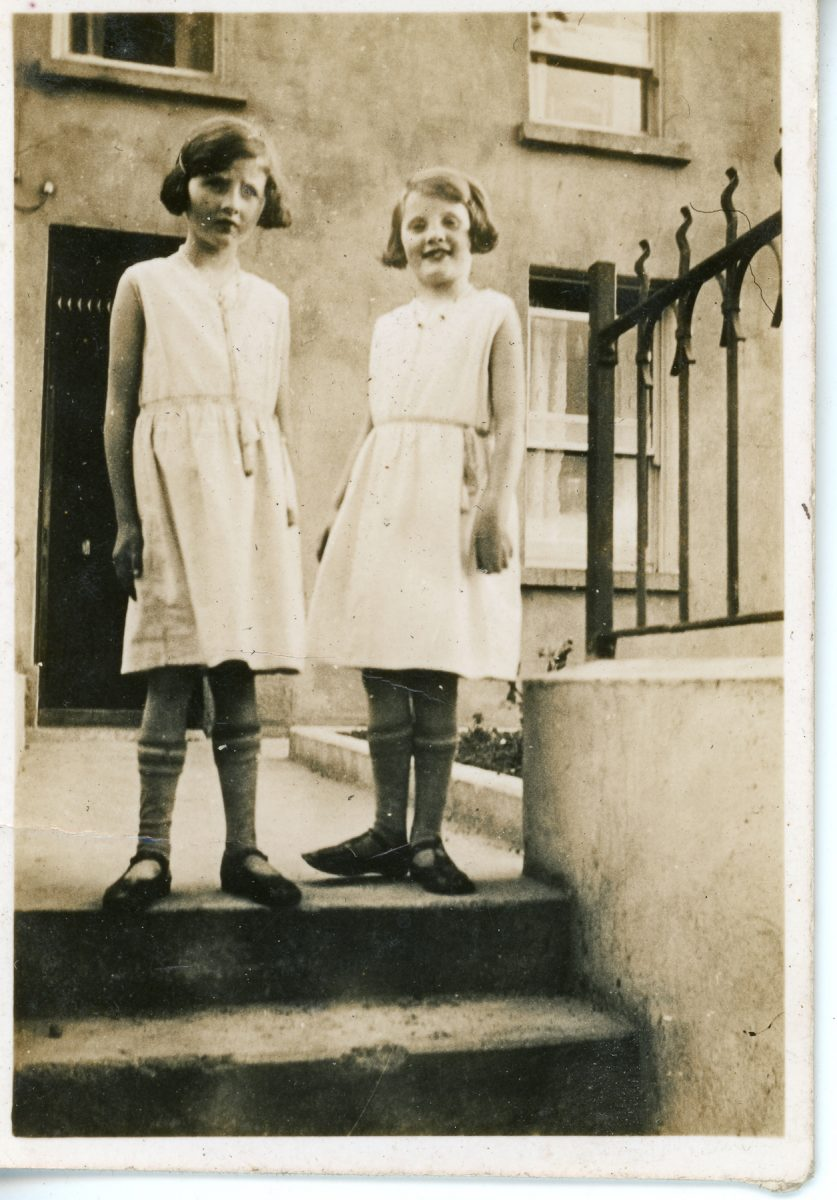 Stewart // County Monaghan :: Two young Stewart girls