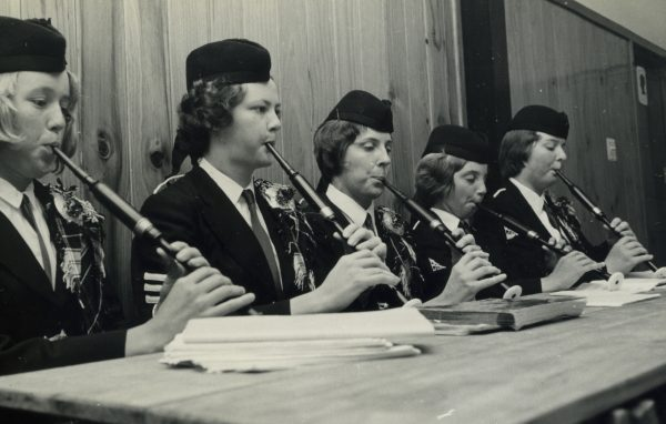 New Plymouth Ladies Pipe Band