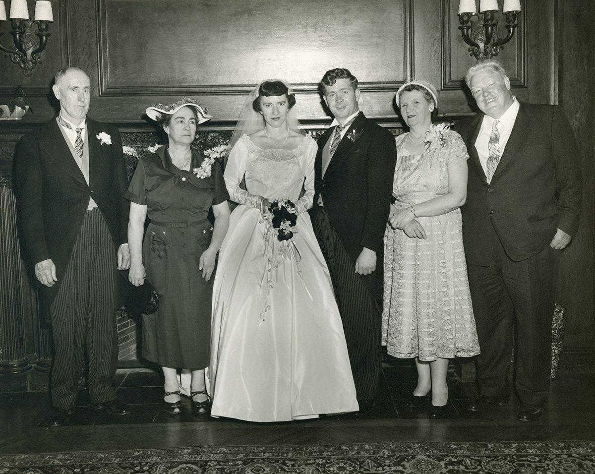 Geraghty // Boston and County Galway :: Wedding of Margaret Cassidy and Thomas Geraghty, with their parents