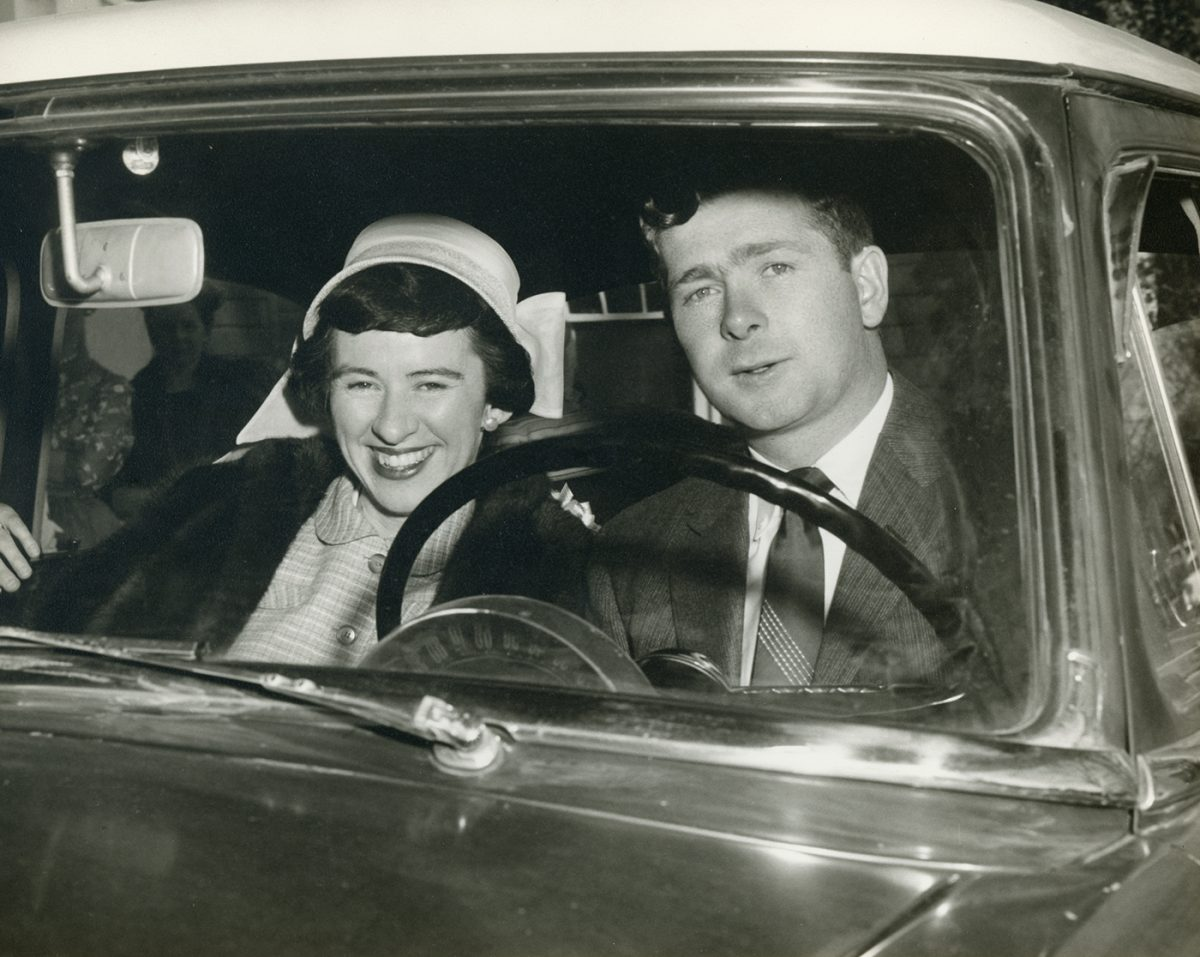 Geraghty // Boston and County Galway :: Ann Geraghty's parents, Margaret Cassidy and Thomas Geraghty, newly-weds