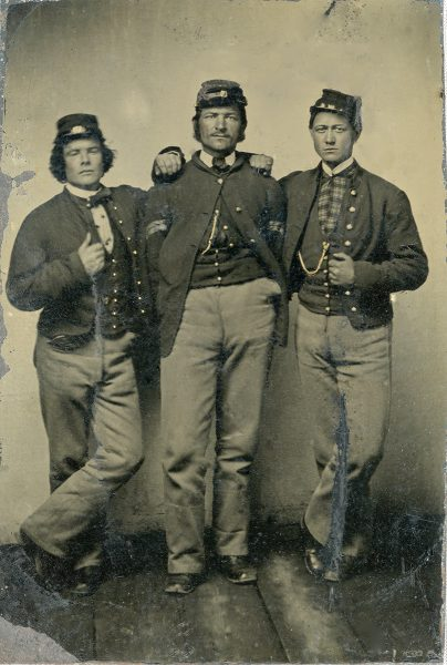Michael E Flynn, Paul Newhall and Tom Cox c.1863