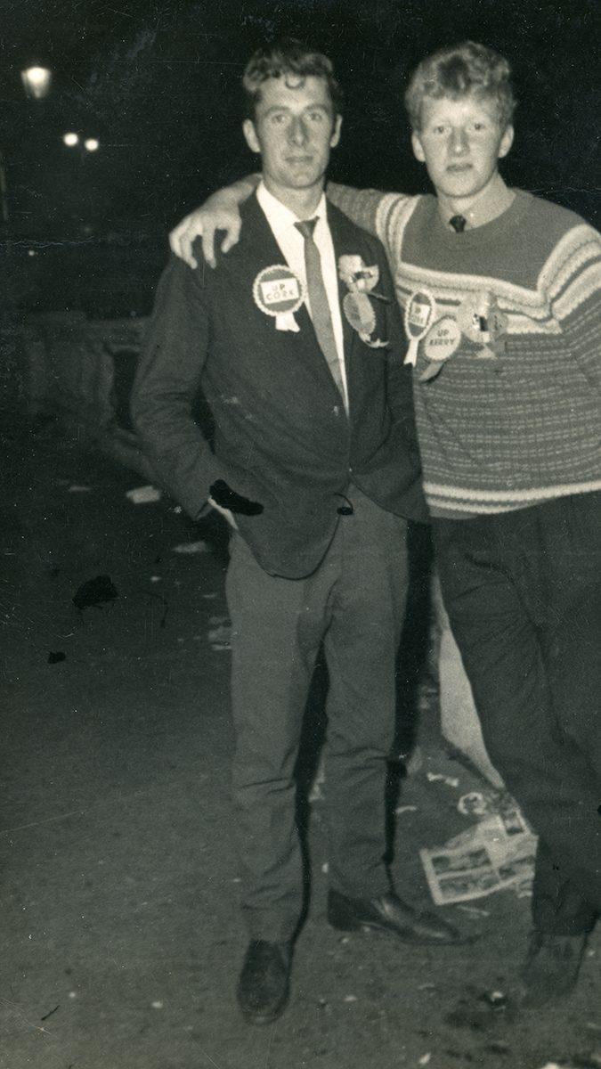 Dwyer Family // Boston and Beara :: Mike Dwyer and Danny Harrington on Dublin's O'Connell Bridge