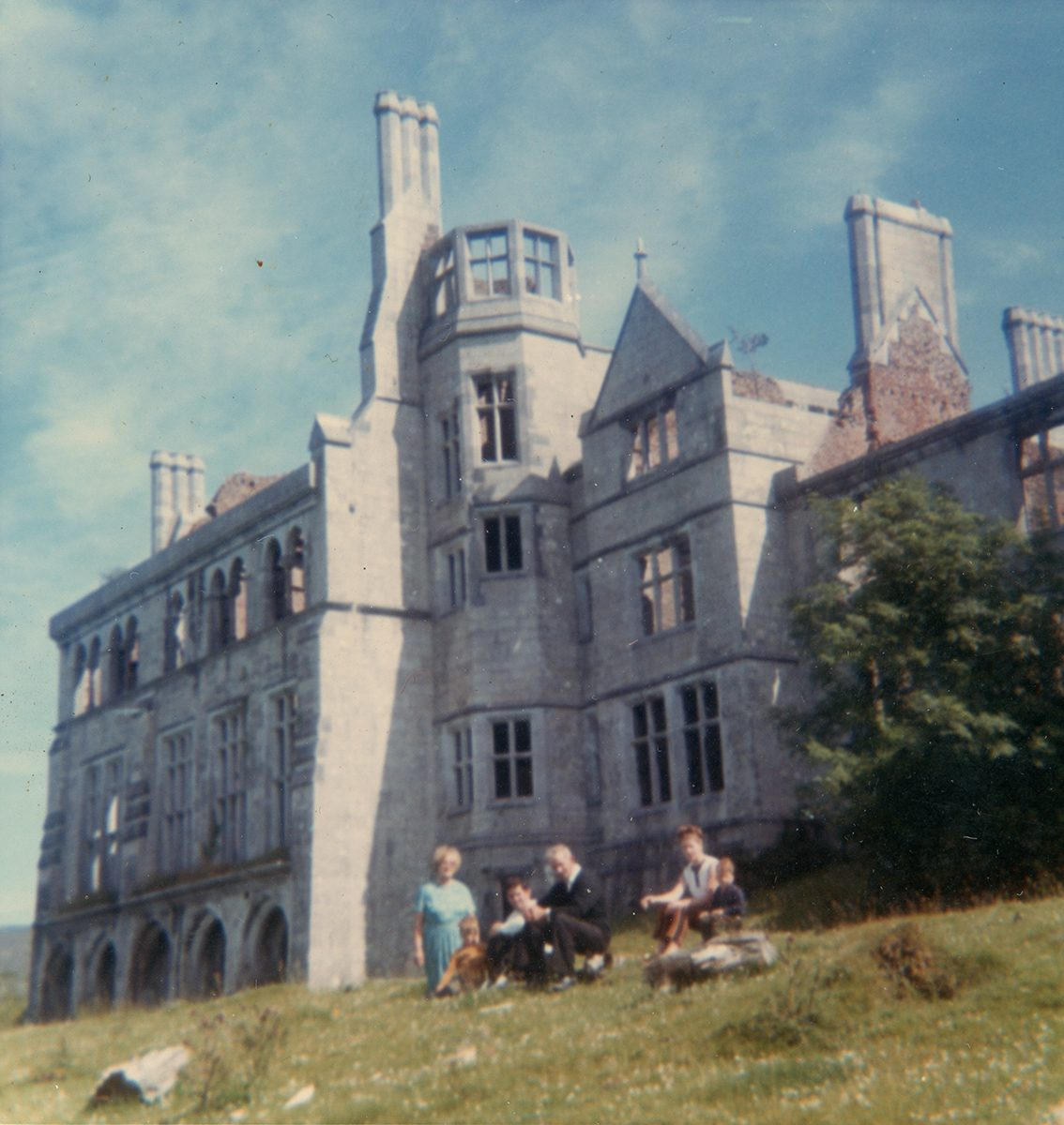 Dwyer Family // Boston and Beara :: Picnic at Puxley Mansion, Dunboy, County Cork