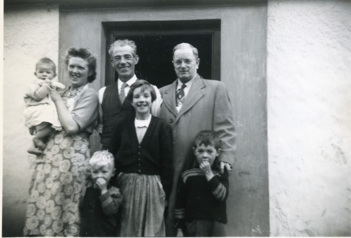 McNally // Boston & Lurgan :: Beth's Grandfather Patrick Joseph McNally (r) with McAtasney or McNally family