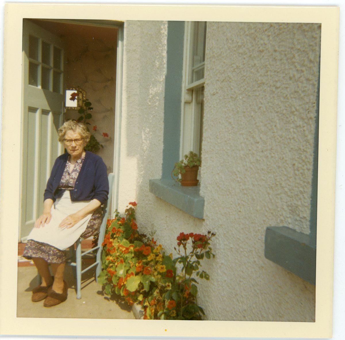 McNally // Boston & Lurgan :: Kate (Hendron) McConville, Derrycor, Craigavon, N.Ireland, August, 1969