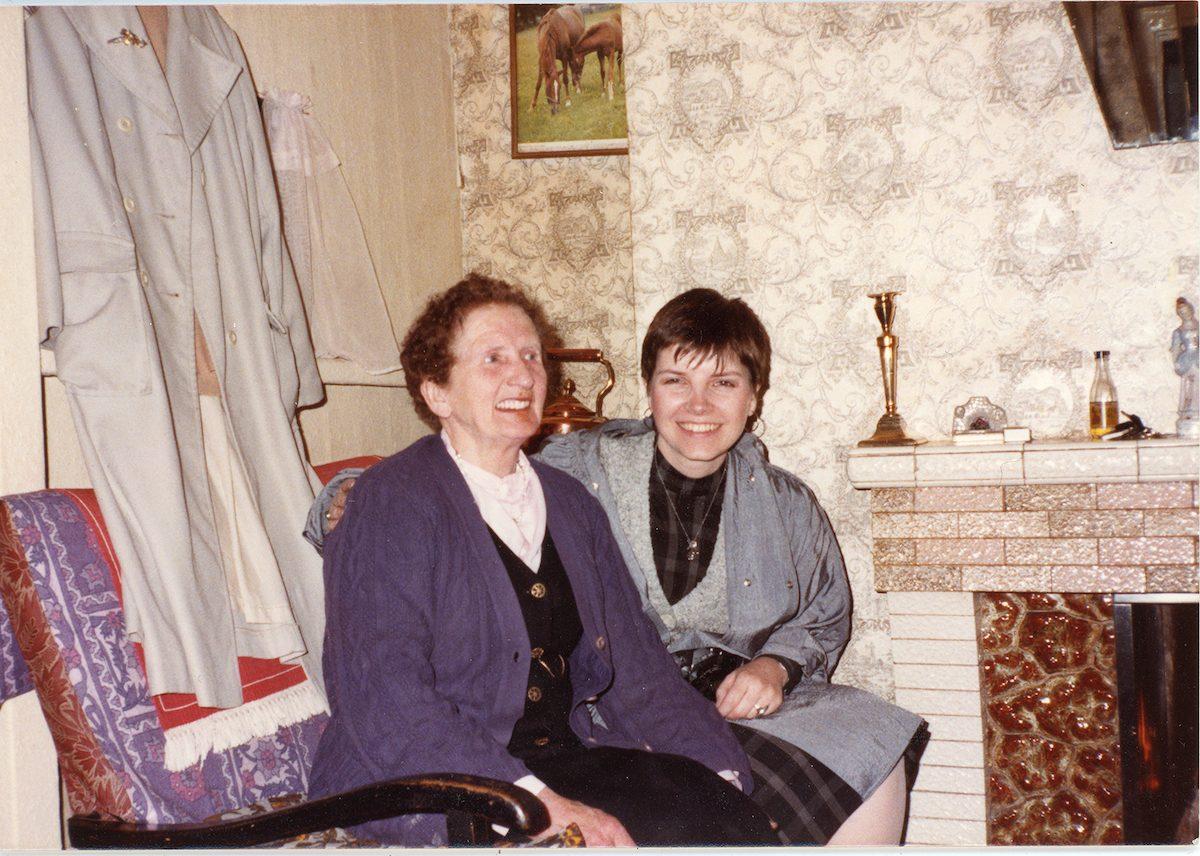 McNally // Boston & Lurgan :: Beth McNally and Kitty Kearns, Portadown, June 1984