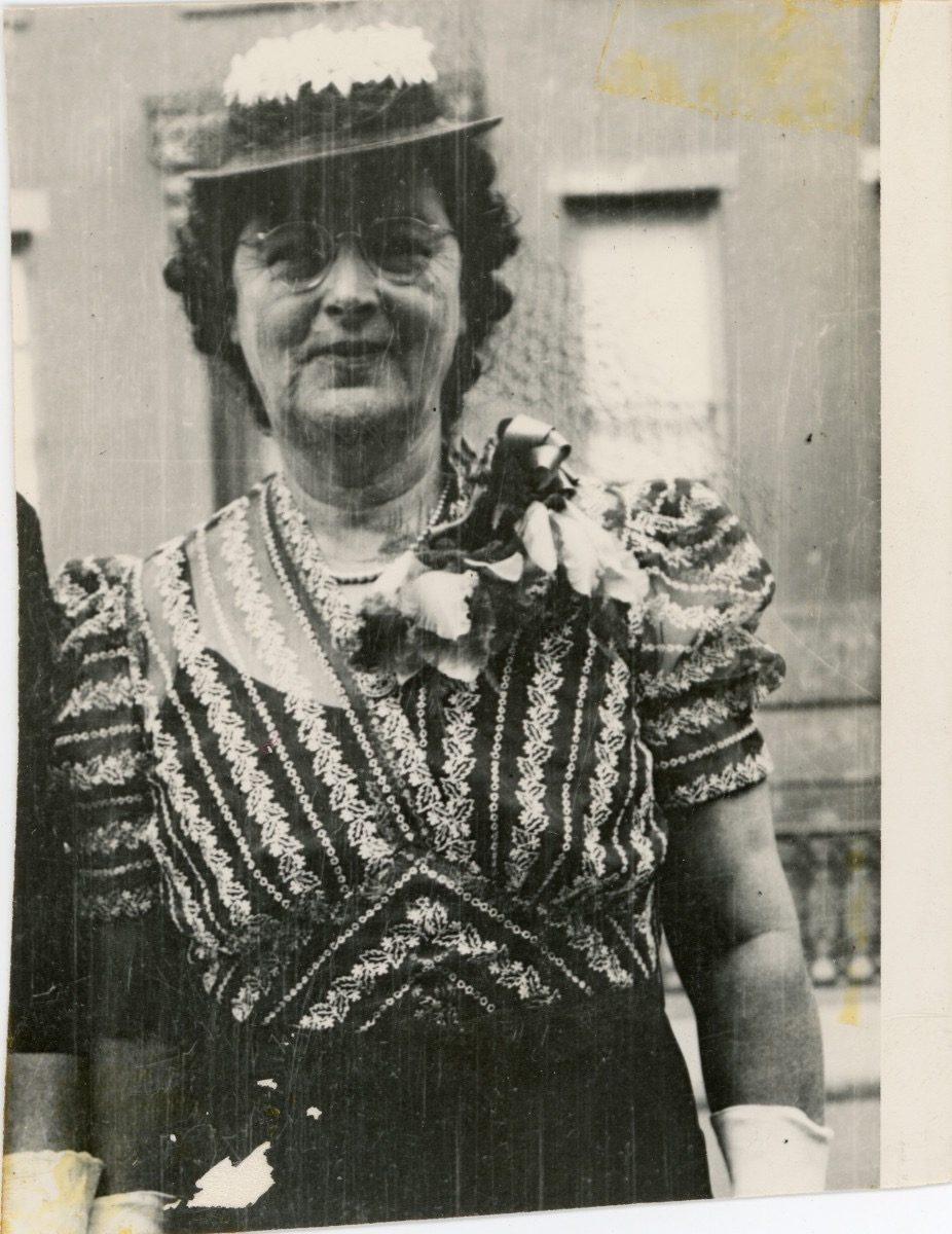 McDermott // Washington DC :: Mary Jane [Eames] Timoney, Brooklyn, at the wedding of Helen in 1946