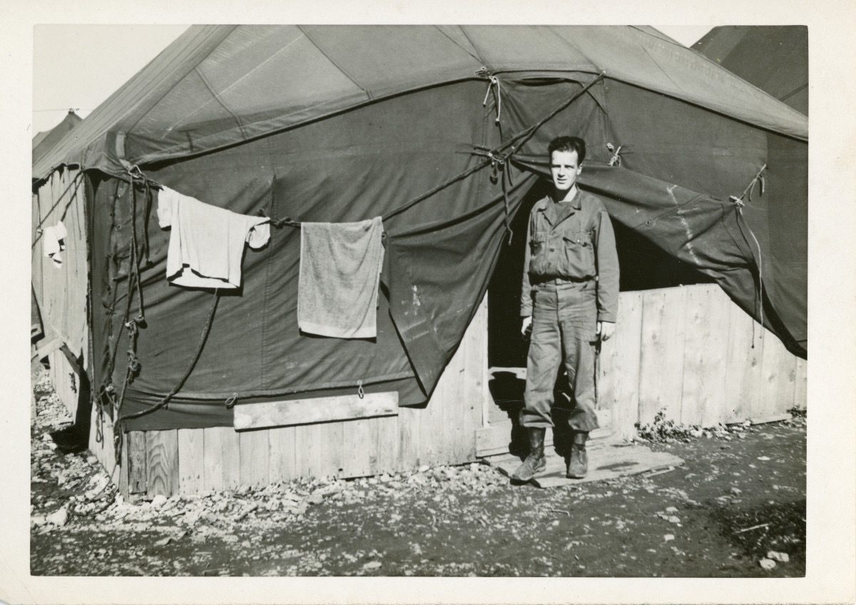 McDermott Family album / Washington DC :: William McDermott, Alice's father, France, 1944