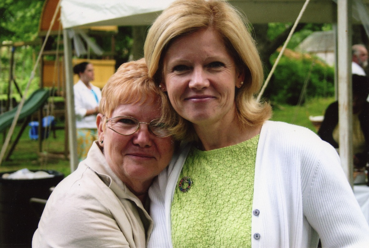 Parker and Duffy families // Washington DC :: Cecelia Rose Parker, daughter of Loretta, and Loretta's daughter Regina's daughter Michele