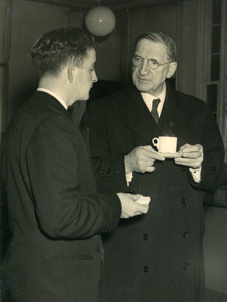With Éamon De Valera
