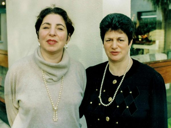 Lila (Shaper) Kronn and Anne (Mitofsky) Citron, Dublin, 2006